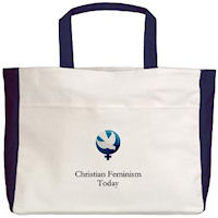 Christian Feminism Today Logo Tote