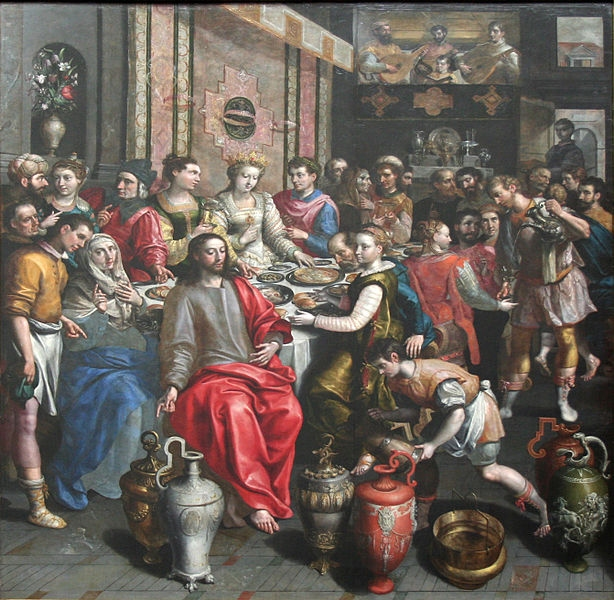 an analysis of the wedding at cana in the gospel of john Today's excerpt is from the gospel of john, the newest installment in the  zondervan exegetical commentary on the new testament written by.