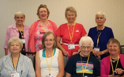 Karen Kidd, Lourene Bender, Fran Mayes, Anne Eggebroten, Reta Finger, Jeanne Hanson, Sharon Bowes, Letha Dawson Scanzoni