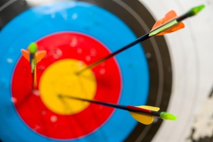 """"""" Arrows in the competition hit the target"""" by absurdovruslan"""