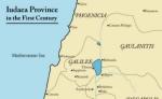 Map of first century Palestine